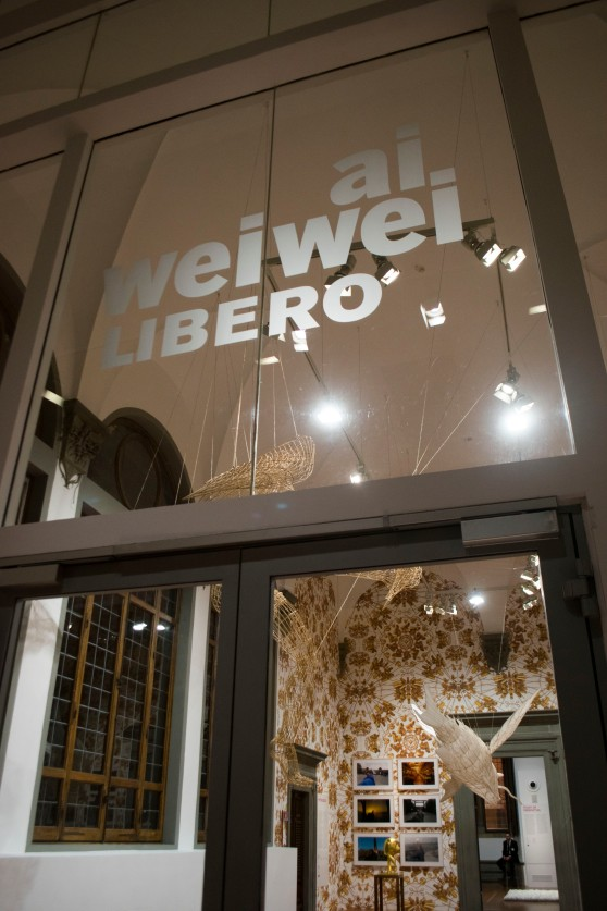 Inside the Ai Weiwei. Libero exhibition.