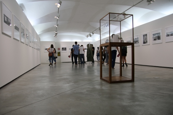 Inside the exhibition.